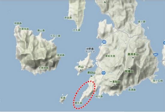 5)大柿町南部 親休鼻