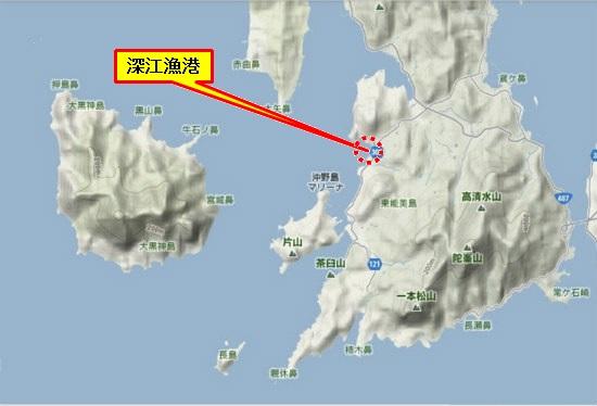 5)大柿町南部 深江漁港