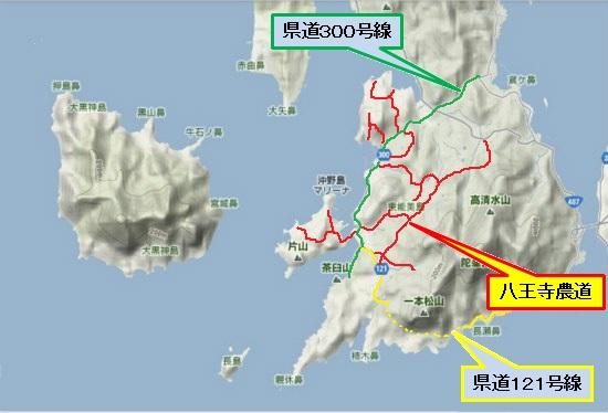 5)大柿町南部 深江農道