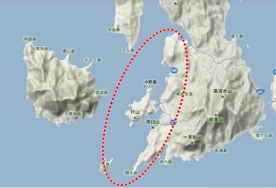 5)大柿町南部 深江地区