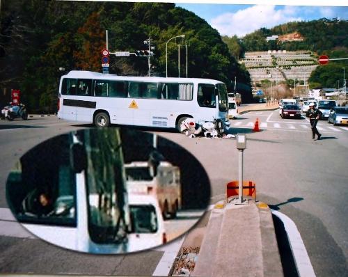 路線バスの写真
