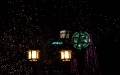 イルミネーションと街灯
