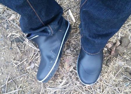 新品の長靴