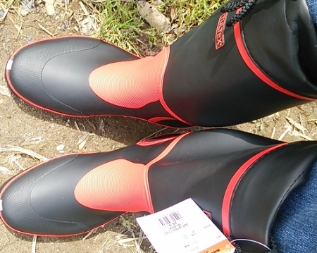 長靴 新調