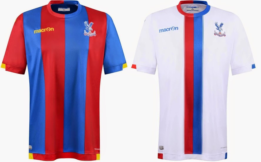Crystal Palce 2015-16 home away kits released