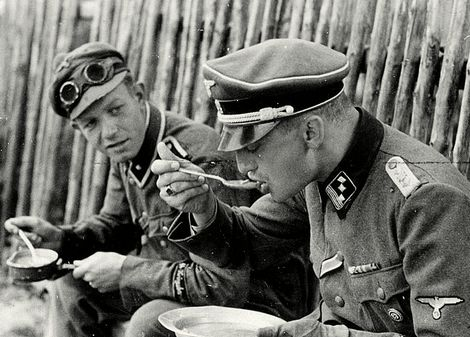 sample_Gunter d'Alquen_SS-Hauptsturmführer_his driver