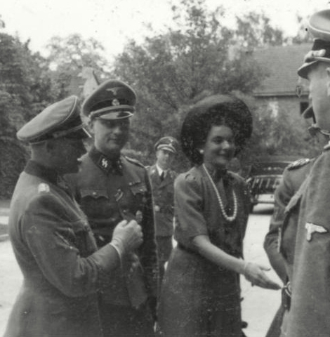 Gunter d'Alquen_Josef Sepp Dietrich_Ursula Moninger