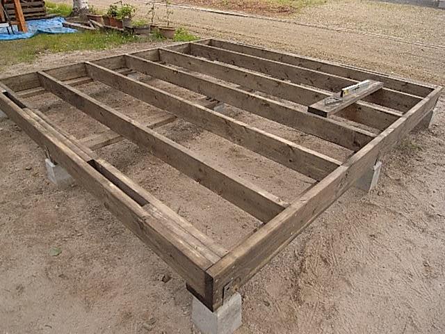 土台床設置