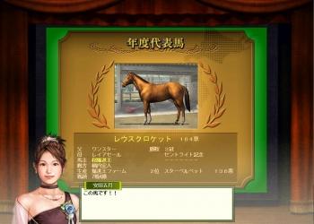 2017年度代表馬