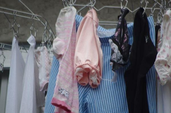 ベランダの下着画像 26