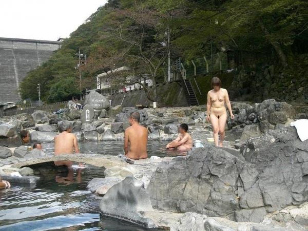 混浴露天風呂 画像 4