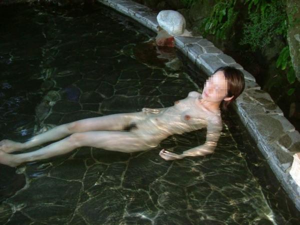混浴露天風呂 画像 10