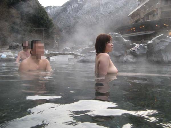 混浴露天風呂 画像 39