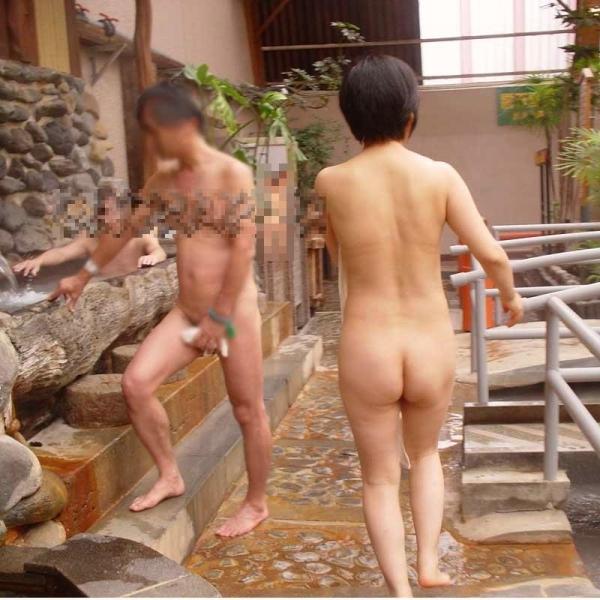 混浴露天風呂 画像 40