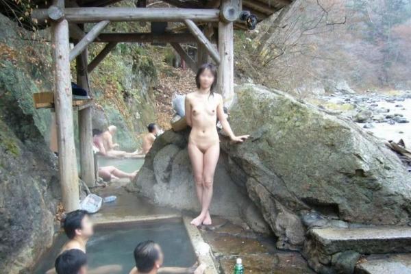 混浴露天風呂 画像 44