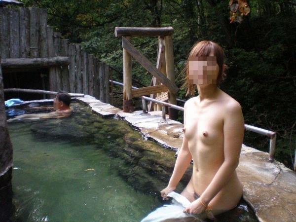混浴露天風呂 画像 46