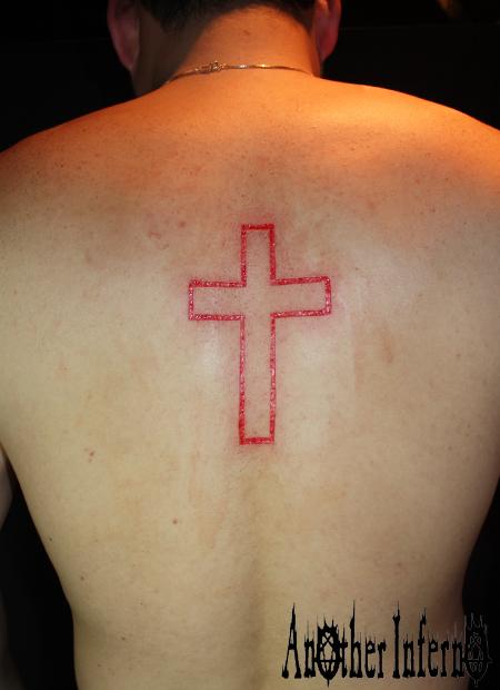 スカリフィケーション 名古屋 カッティング スキンリムーバル 十字架 クロス
