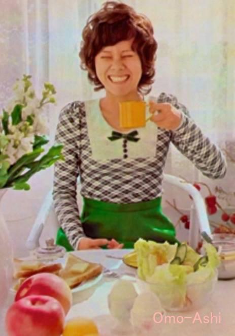 真理ちゃんの朝食(想い出の足音)