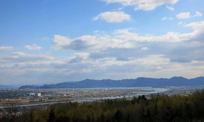笠井山付近展望