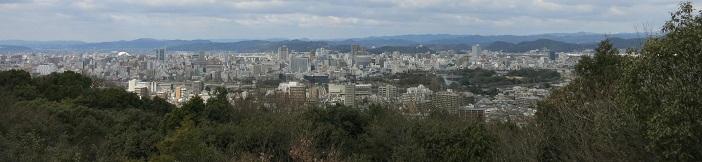 岡山市内パノラマ