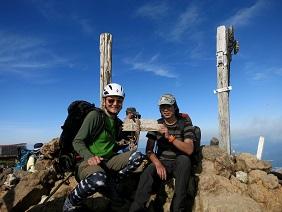 4赤岳山頂