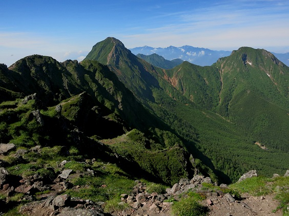 0横岳・赤岳