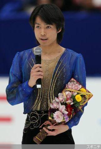 町田樹選手 引退発表 2014全日本にて