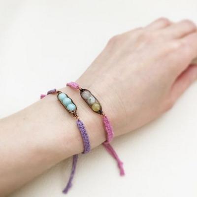 peapod yoga bracelet