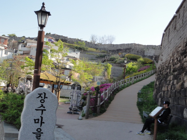 2015年4月21日 駱山公園裏 ソウル城郭