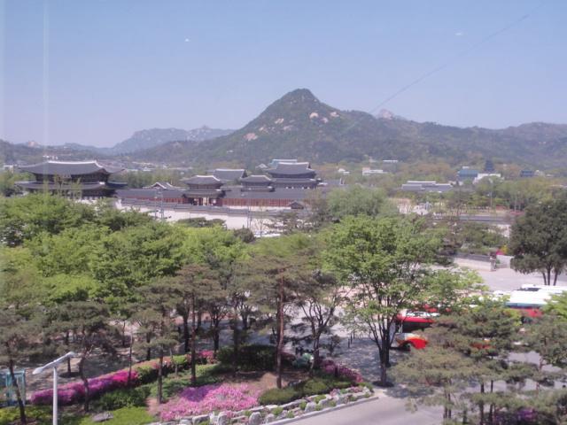 2015年4月24日 大韓民国歴史博物館からの絶景