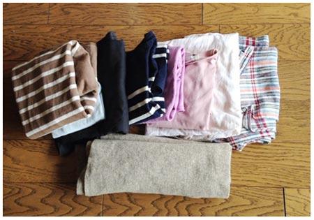 洗濯したての服
