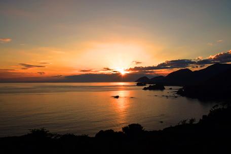 丹後松島の日の出