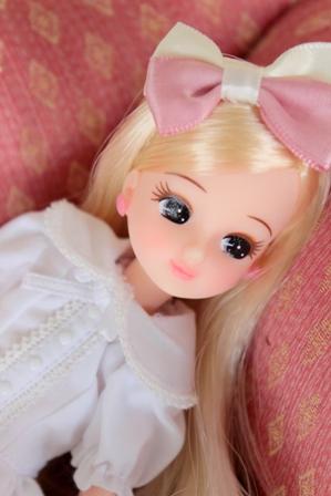 チクロモデルリカ 撮影会 白ワンピ (5)