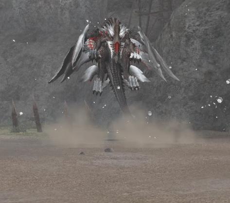 金属メテオ空中1