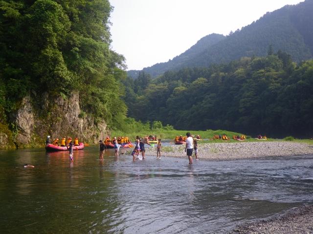 20150712夏の河原