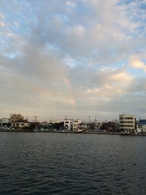 城ケ島の虹