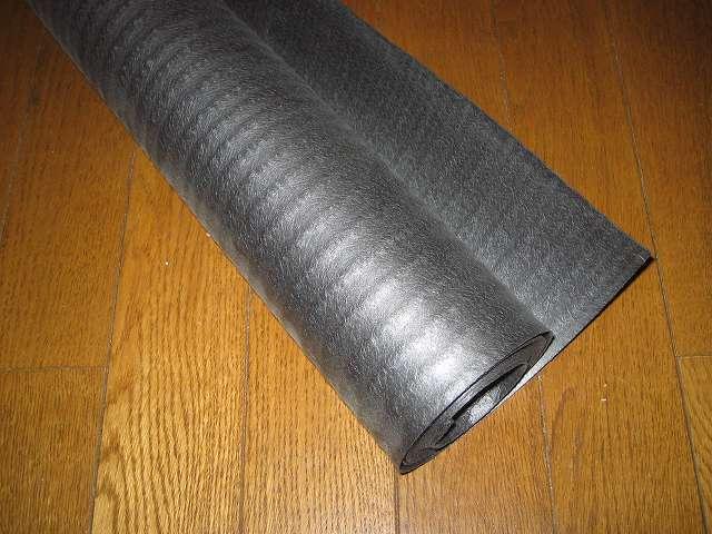 Antec Three Hundred Two AB 振動対策、敷石 鉄平石 ピンコロ 石材 とっても綺麗なイエロー鉄平石 st13 PC ケース天板設置用に余っていた備長炭シートを再利用