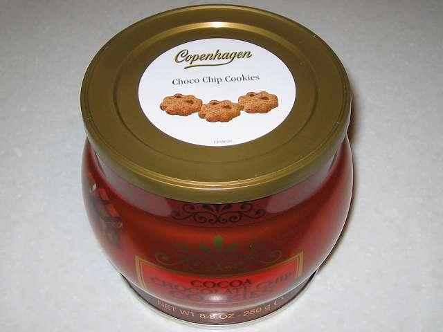 3月14日 ホワイトデーのお返し用にコペンハーゲン チョコチップクッキー 250g を購入しました