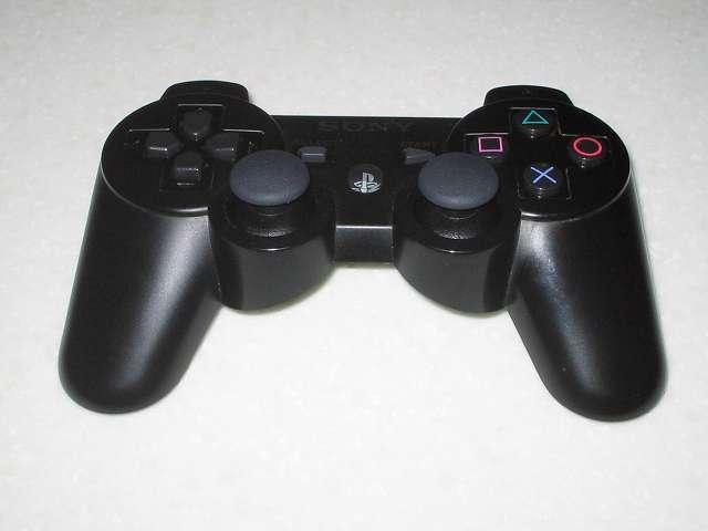 DS3 Dualshock3 デュアルショック3 Wireless Controller Black CECHZC2J A1 組み立て作業、コントローラー本体上部プラスチックカバー側の組み立て作業完了