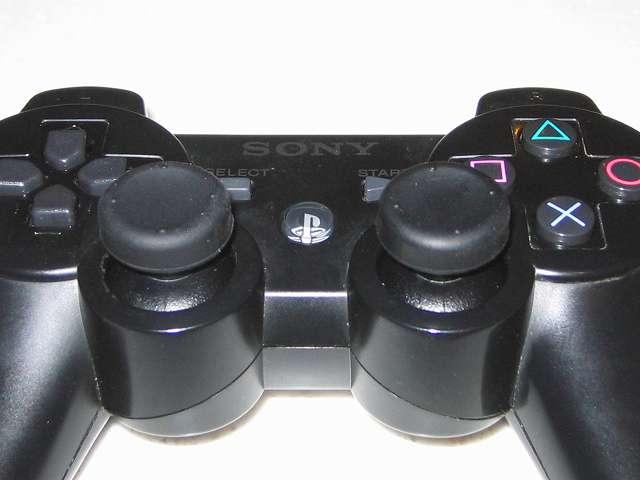 DS3 Dualshock3 デュアルショック3 Wireless Controller Black CECHZC2J A1 アタッチメント用 デイテル・ジャパン PS3用 アナログスティックカバープラス アナログスティックカバー くぼみタイプ 取り付け