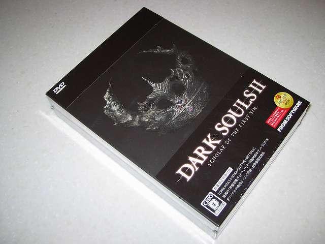 PC 用 DirectX 11 対応版 DARK SOULS II SCHOLAR OF FIRST SIN (数量限定特典同梱) パッケージ版を購入しました