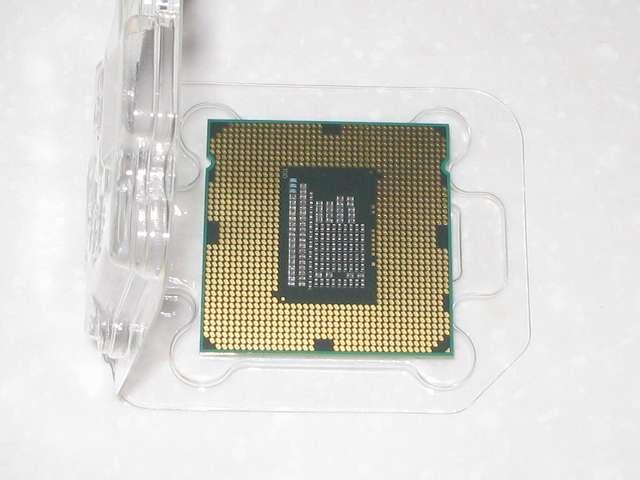 Intel Celeron G540 CPU裏