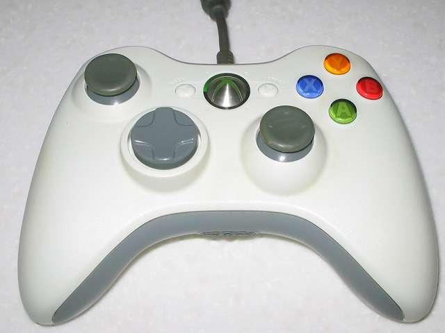 Microsoft Xbox360 有線コントローラー Wired Controller ホワイト 組み立て作業、動作確認を行い組み立て作業完了、