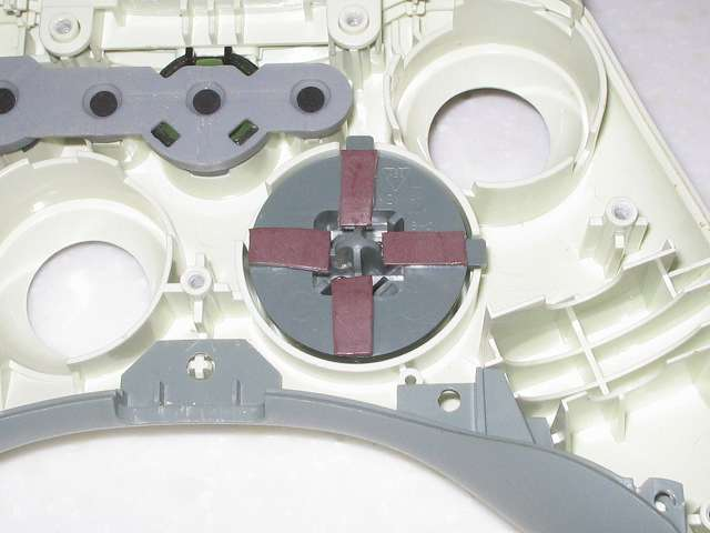 Xbox 360 コントローラー(ホワイト)の十字キーをカグスベールで改造してみました