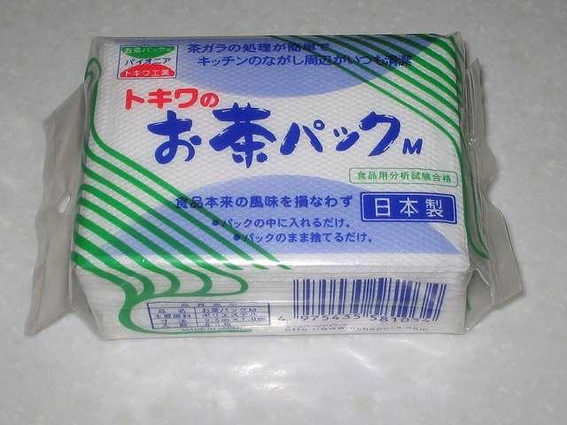 トキワのお茶パック M 60枚 購入