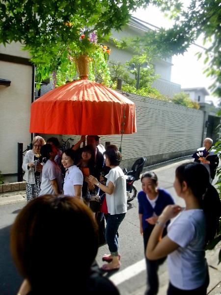 やすらい花傘