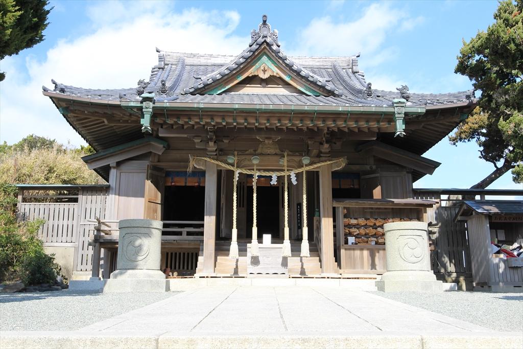 森戸神社の拝殿_1