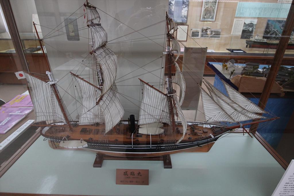 日米の帆船_1