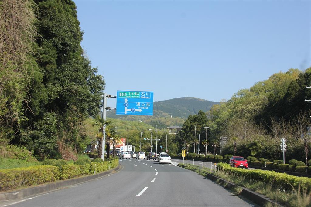 いわき湯本ICから常磐高速道に入る_1
