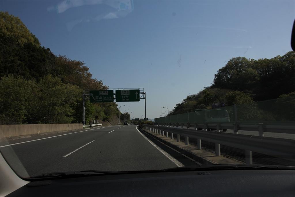 いわき湯本ICから常磐高速道に入る_2